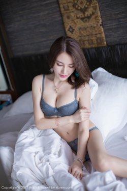 刘奕宁Lynn《蕾丝内衣+性感肚兜》 [爱蜜社IMiss] Vol.186