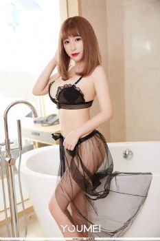 尤美写真 谢芷馨 浴室俏佳人美胸翘臀肉色图片