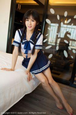[秀人网XiuRen] No.405 @唐雨辰TYC-水手校服+热裤系列