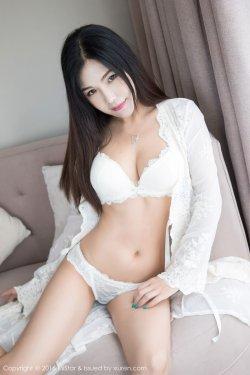 丁筱南《蕾丝透视内衣+情趣网衣》 [魅妍社MiStar] Vol.139