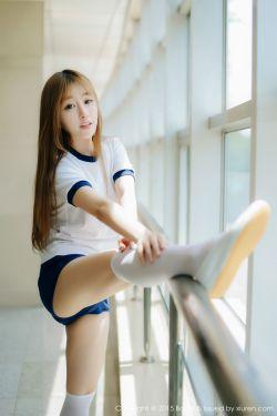 [兔几盟Tukmo] Vol.038 @王语纯-校园体操服系列~