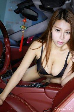 Vetiver嘉宝贝儿《车模图片+浴室私拍》 [秀人网XiuRen] No.124
