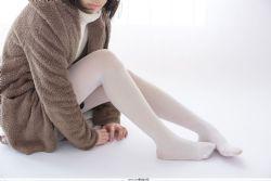 [森萝财团] X-06 忧郁白丝 萝莉丝袜经典图集