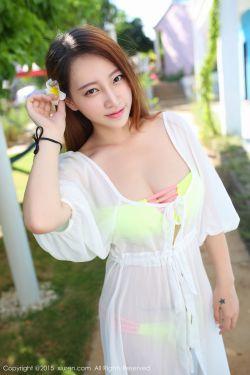 [秀人网Xiuren] No.346 @丽莉Lily-涠洲岛旅拍-薄纱长裙+海边系列